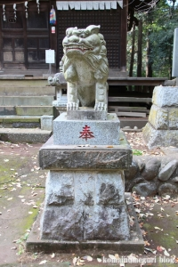 鳩峰八幡神社(所沢市久米)26