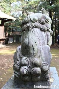 鳩峰八幡神社(所沢市久米)29
