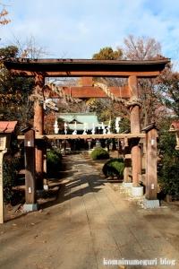 熊野神社(所沢市西新井町)5