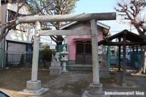 当代稲荷神社(江戸川区江戸川)1