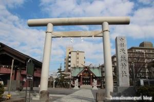 中割天祖神社(江戸川区東葛西)1