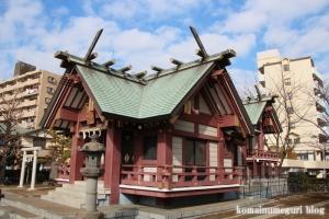 中割天祖神社(江戸川区東葛西)10