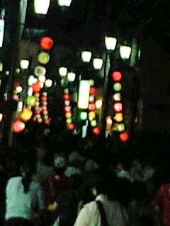 百万灯夏まつり  川越の玄米屋 KOME山田屋