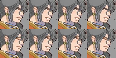 三つ編み騎士(顔グラ)3