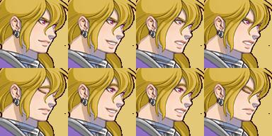 三つ編み騎士(顔グラ)4