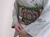 秋山様帯コーデ