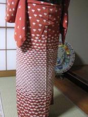 和田様裾模様