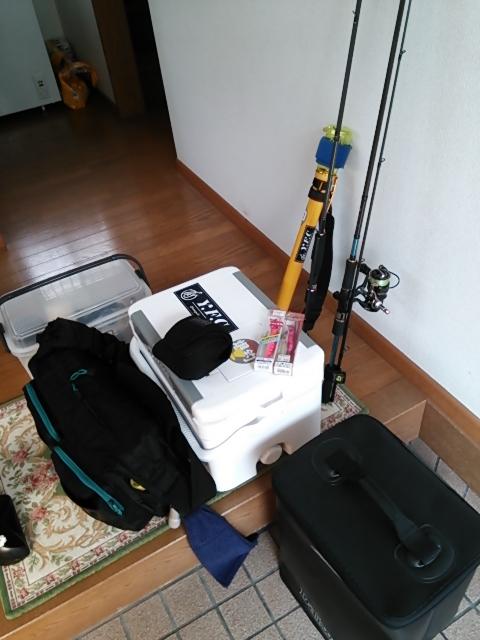 釣り収め準備1