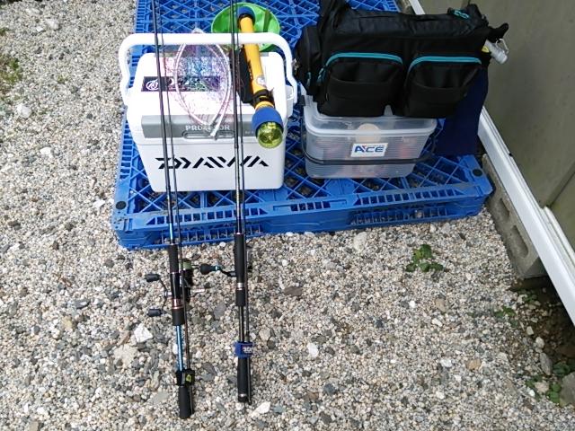 釣り準備1