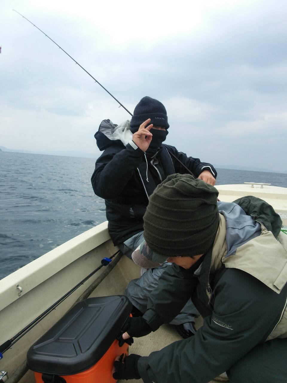ゆうびんボートエギング