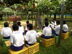 燕中学校職場体験1