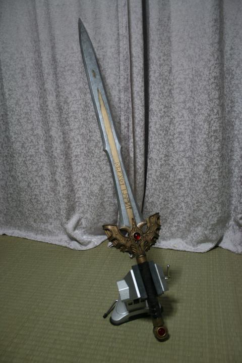 ロトの剣 汚し塗装
