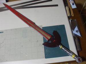 トロの剣 製作過程1
