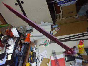 トロの剣 製作状況2