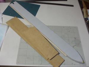 ロトの剣用鞘 製作過程