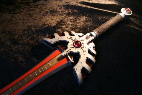 トロの剣 完成写真
