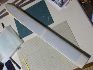 ロトの剣 鞘 製作過程5