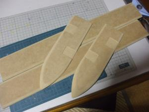 ロトの剣 鞘 製作過程3