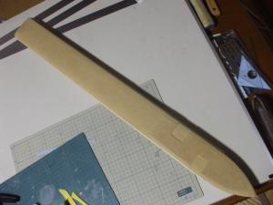 ロトの剣 鞘 製作過程4