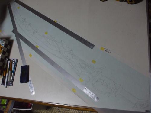 ロマンシングサガ3 竜鱗の剣 設計図