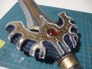 ロトの剣 製作過程 飾り紐