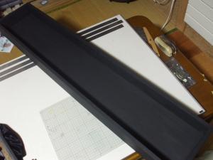 ロトの剣 ディスプレイケース 塗装後