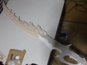 竜燐の剣 製作過程