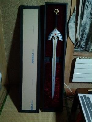 ロトの剣 ディスプレイケース 製作過程
