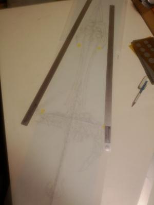 W様 天空の剣 設計図