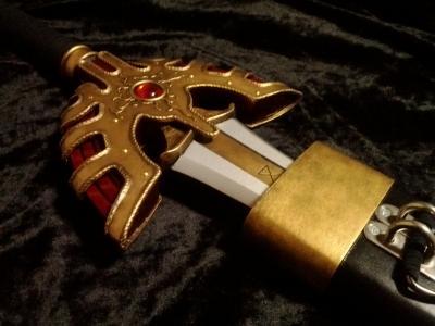 T様 ロトの剣&鞘 完成写真