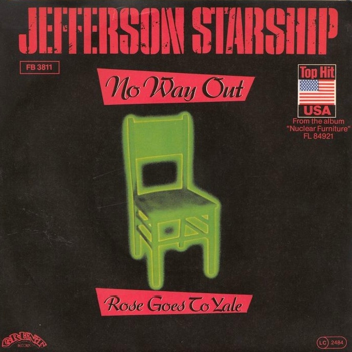 Jefferson Starship 1984 No Way Out