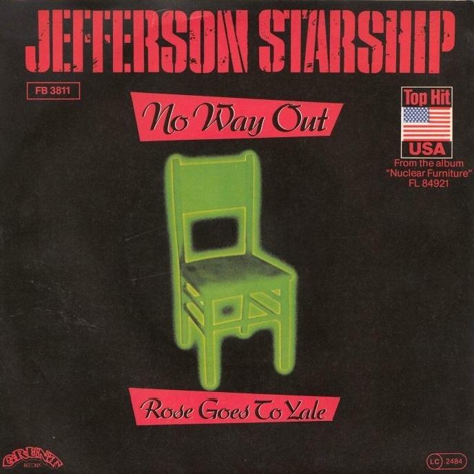 Jefferson Starship 1984 No Way Out