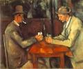 セザンヌ 「カード遊びをする男たち」
