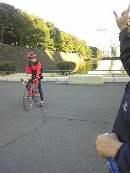 皇居自転車