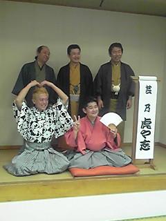 12/19(楽・記念撮影)