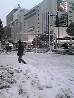 1/16(笑例会・雪景色)