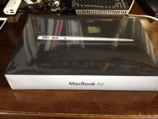 MacBookAir開封4