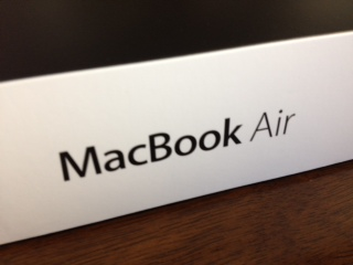 MacBookAir開封7