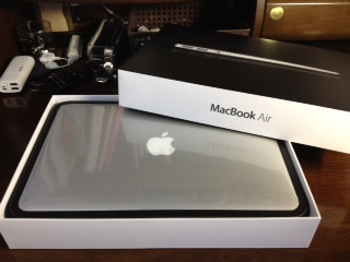 MacBookAir開封9