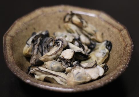 牡蛎のあぶり焼き
