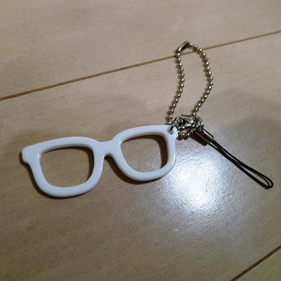 3メガネ携帯ストラップ