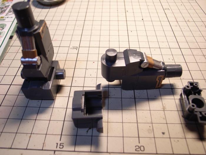 足首の作製
