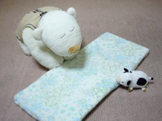 おいらのベッド~♪