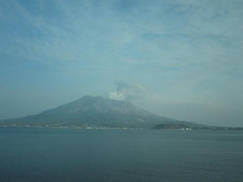 桜島噴火②