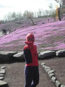美脚への道♪ 温泉三昧♪ のんびり努力♪-スパイダーマン