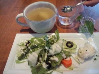 コラーゲン入りみそスープ&前菜