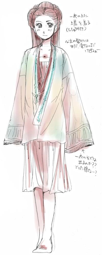 女性陣衣装考察2
