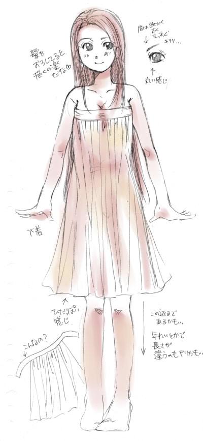 女性陣衣装考察1