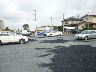 水戸市住吉町月極駐車場2