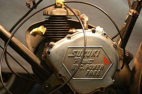 エンジンがかわいらしい
